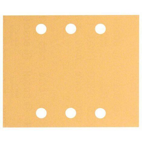 Papier abrasif pour ponceuse vibrante Bosch Accessories 2608608Y00 2608608Y00 Grain 40, 60, 80, 120, 180 (Ø x L) 115 mm