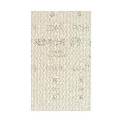 Papier abrasif pour ponceuse vibrante Bosch Accessories 2608621231 2608621231 Grain 240 (Ø x L) 80 mm x 133 mm 10 pc(s)