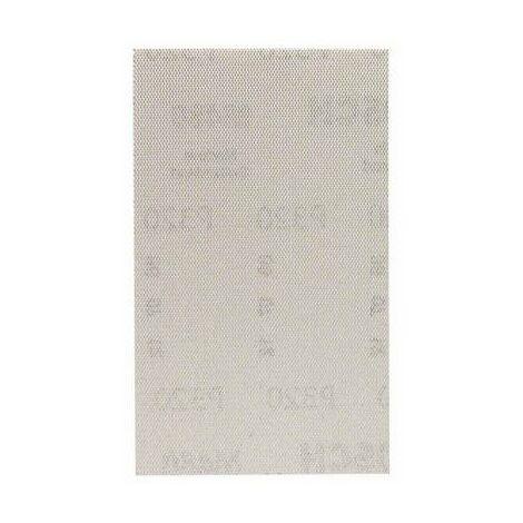 Papier abrasif pour ponceuse vibrante Bosch Accessories 2608621232 2608621232 Grain num 320 (Ø x L) 80 mm x 133 mm 10 p