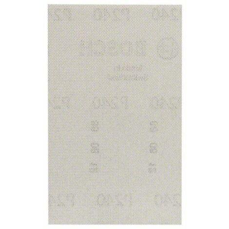 Papier abrasif pour ponceuse vibrante Bosch Accessories 2608621233 2608621233 Grain num 400 (Ø x L) 80 mm x 133 mm 10 p