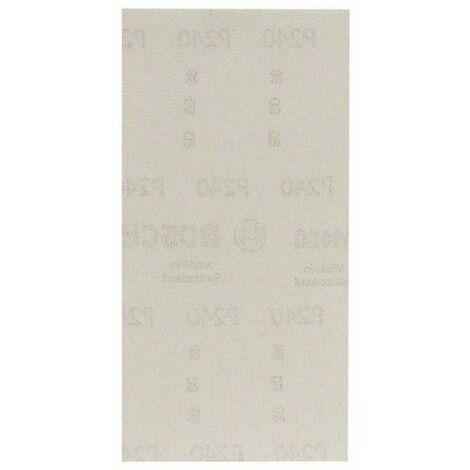 Papier abrasif pour ponceuse vibrante Bosch Accessories 2608621240 2608621240 Grain num 240 (Ø x L) 93 mm x 186 mm 10 p