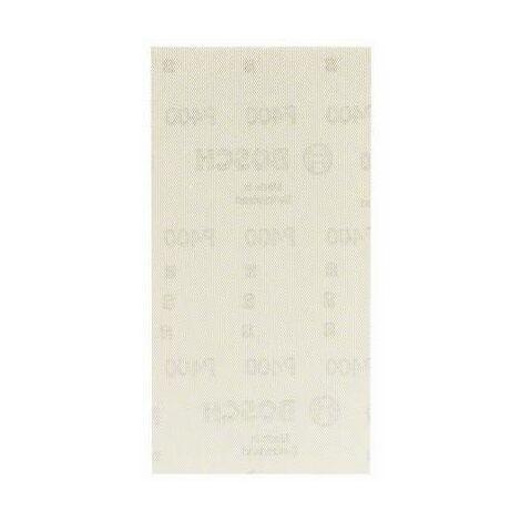Papier abrasif pour ponceuse vibrante Bosch Accessories 2608621242 2608621242 Grain num 400 (Ø x L) 93 mm x 186 mm 10 p