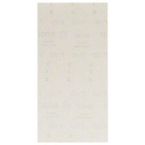 Papier abrasif pour ponceuse vibrante Bosch Accessories 2608621265 2608621265 Grain num 180 (Ø x L) 115 mm x 230 mm 10