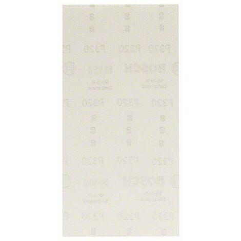 Papier abrasif pour ponceuse vibrante Bosch Accessories 2608621268 2608621268 Grain 320 (Ø x L) 115 mm x 230 mm 10 pc(s