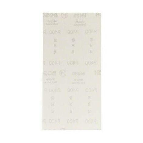 Papier abrasif pour ponceuse vibrante Bosch Accessories 2608621269 2608621269 Grain num 400 (Ø x L) 115 mm x 230 mm 10
