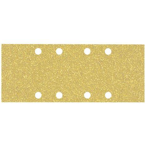 Papier abrasif pour ponceuse vibrante Bosch Accessories EXPERT C470 2608900833 perforé Grain num 40 (L x l) 230 mm x 93