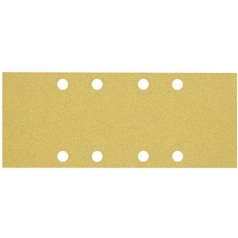 Papier abrasif pour ponceuse vibrante Bosch Accessories EXPERT C470 2608900834 perforé Grain num 60 (L x l) 230 mm x 93