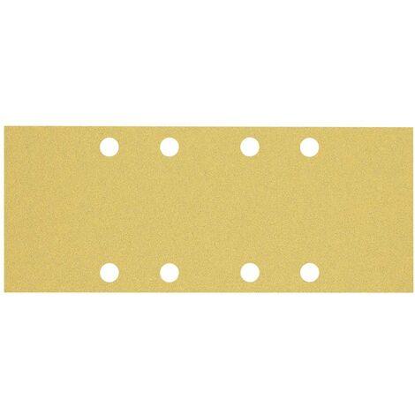 Papier abrasif pour ponceuse vibrante Bosch Accessories EXPERT C470 2608900835 perforé Grain num 80 (L x l) 230 mm x 93