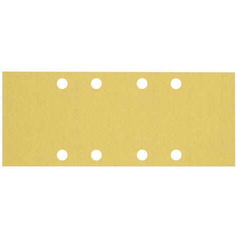 Papier abrasif pour ponceuse vibrante Bosch Accessories EXPERT C470 2608900836 perforé Grain num 120 (L x l) 230 mm x 9