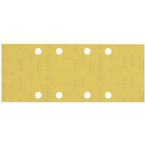 Papier abrasif pour ponceuse vibrante Bosch Accessories EXPERT C470 2608900839 perforé Grain num 400 (L x l) 230 mm x 9