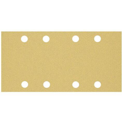 Papier abrasif pour ponceuse vibrante Bosch Accessories EXPERT C470 2608900855 perforé Grain num 80 (L x l) 230 mm x 93