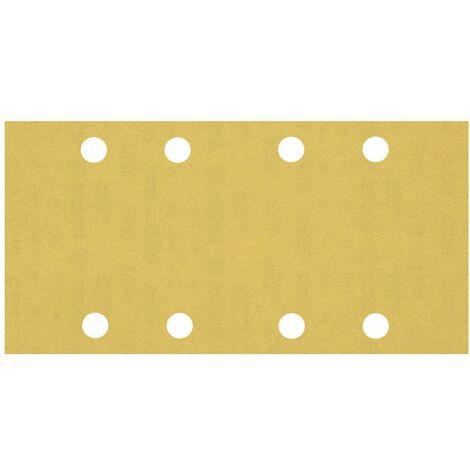 Papier abrasif pour ponceuse vibrante Bosch Accessories EXPERT C470 2608900858 perforé Grain num 240 (L x l) 230 mm x 9