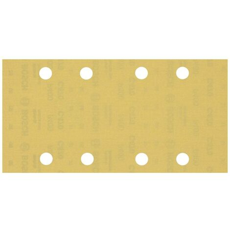 Papier abrasif pour ponceuse vibrante Bosch Accessories EXPERT C470 2608900859 perforé Grain num 400 (L x l) 230 mm x 9