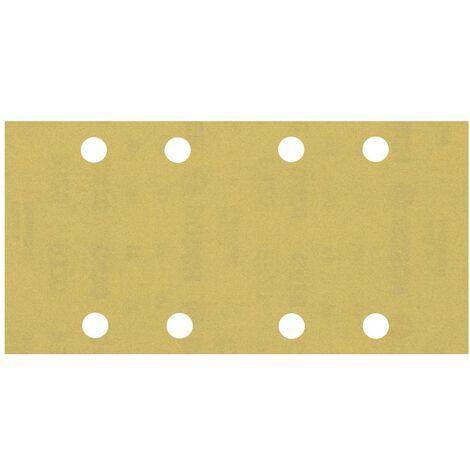 Papier abrasif pour ponceuse vibrante Bosch Accessories EXPERT C470 2608900870 perforé Grain num 320 (L x l) 230 mm x 9
