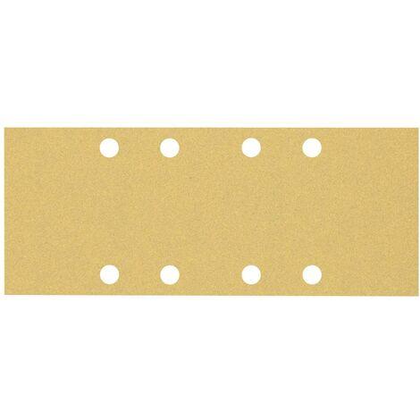 Papier abrasif pour ponceuse vibrante Bosch Accessories EXPERT C470 2608900871 perforé Grain num 100 (L x l) 230 mm x 9