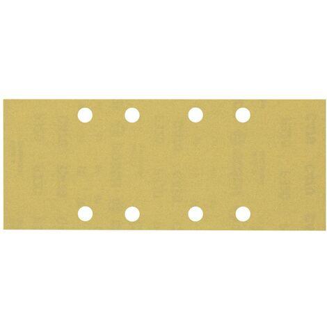 Papier abrasif pour ponceuse vibrante Bosch Accessories EXPERT C470 2608900872 perforé Grain num 320 (L x l) 230 mm x 9