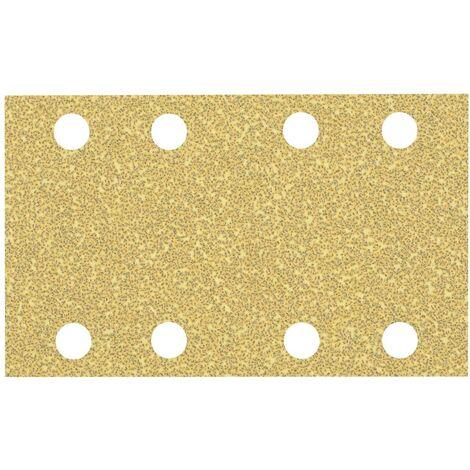 Papier abrasif pour ponceuse vibrante Bosch Accessories EXPERT C470 2608900877 perforé Grain num 40 (L x l) 133 mm x 80