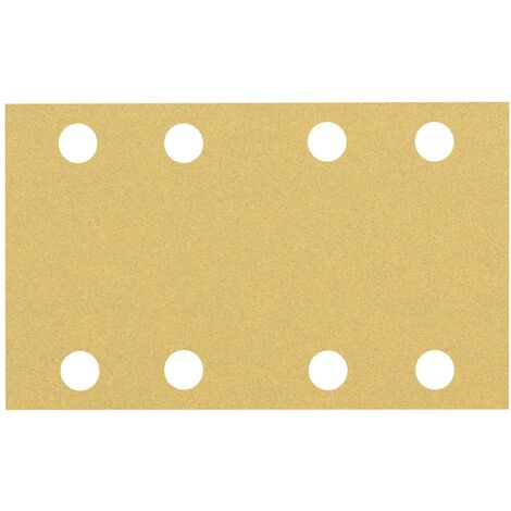 Papier abrasif pour ponceuse vibrante Bosch Accessories EXPERT C470 2608900880 perforé Grain num 100 (L x l) 133 mm x 8