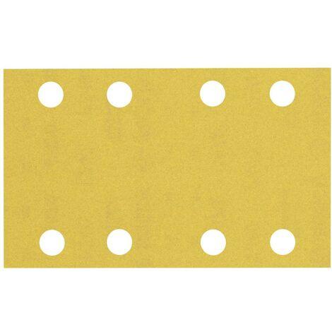 Papier abrasif pour ponceuse vibrante Bosch Accessories EXPERT C470 2608900883 perforé Grain num 240 (L x l) 133 mm x 8