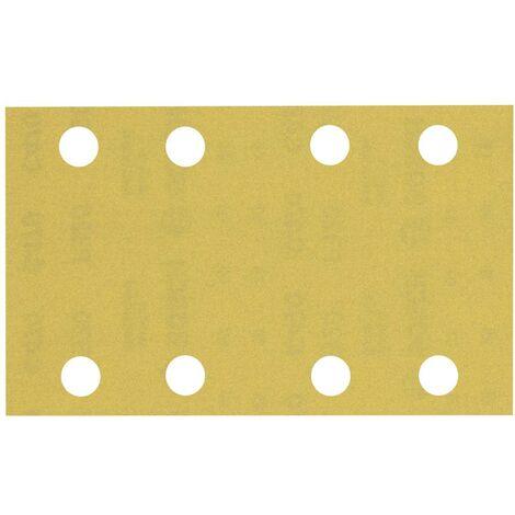 Papier abrasif pour ponceuse vibrante Bosch Accessories EXPERT C470 2608900884 perforé Grain num 320 (L x l) 133 mm x 8
