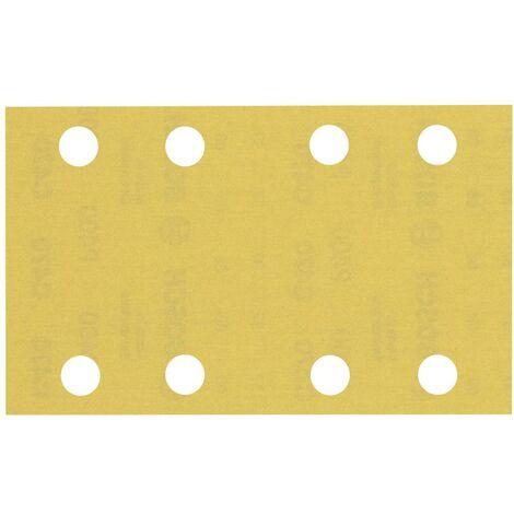 Papier abrasif pour ponceuse vibrante Bosch Accessories EXPERT C470 2608900885 perforé Grain num 400 (L x l) 133 mm x 8