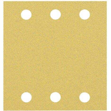 Papier abrasif pour ponceuse vibrante Bosch Accessories EXPERT C470 2608900892 perforé (L x l) 115 mm x 107 mm 10 pc(s)