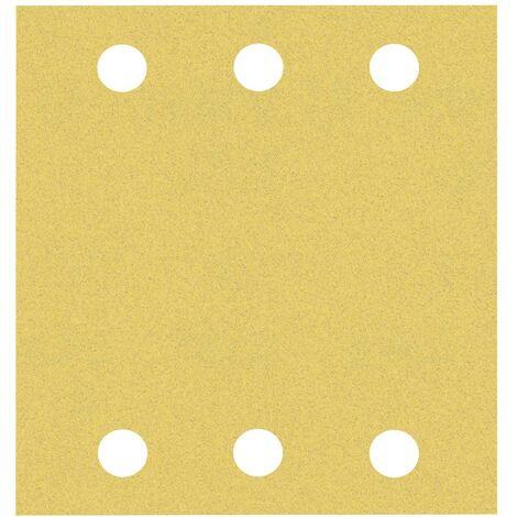 Papier abrasif pour ponceuse vibrante Bosch Accessories EXPERT C470 2608900893 perforé (L x l) 115 mm x 107 mm 10 pc(s)