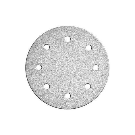 Ø225mm Velcro Meules p120 Papier Abrasif Meuleuse de construction à meule Ponceuse