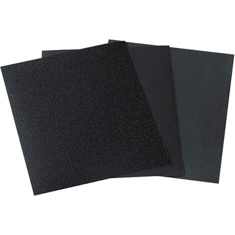 Papier abrasif Wolfcraft 3119000 Grain 280, 400, 600, 1000 (L x l) 280 mm x 230 mm 1 pc(s)
