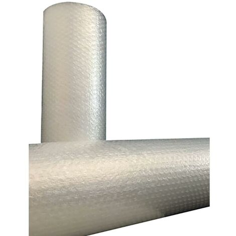 Papier bulle plastique 1X10Mt incolore Movacen