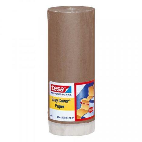 Papier de masquage avec ruban adhésif premium, 300 mm x 25 m - tesa® 4364