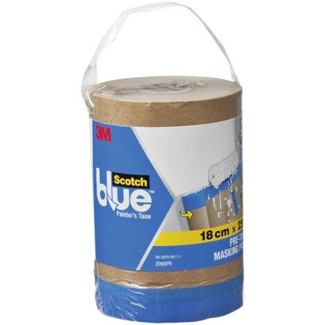 Papier de masquage ScotchBlue™ 3M 2090PR marron (L x l) 25 m x 18 cm 1 pc(s)