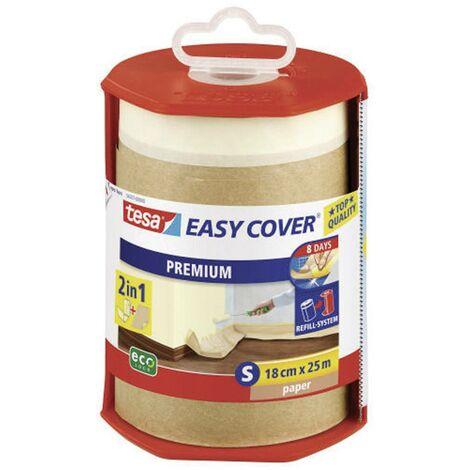 Papier de masquage tesa Easy Cover® tesa 56767 marron (L x l) 25 m x 180 mm 25 m