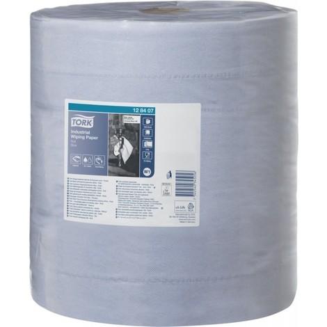 Papier d'essuyage 330 bleu 3 plis .37x34cm 1000 feuilles