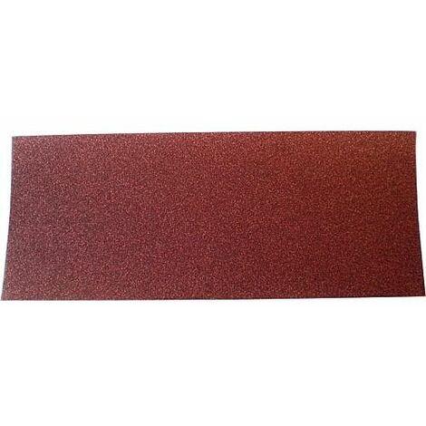 Papier-emeri 115mm x 280mm, granule A80 Emballage 100 pièces