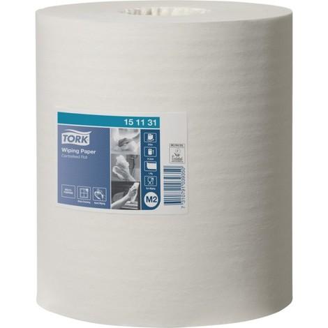 Papier essuie tout 415 Wisch- blanc 1 pli - 275m (Par 6)