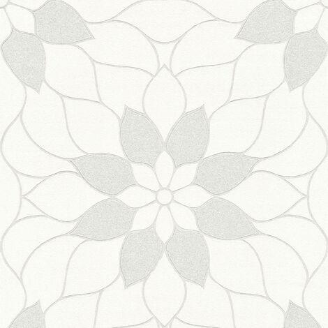 Papier peint 361707 A.S. Création Neue Bude 2.0 | Papier peint Blanc en ligne
