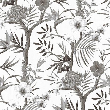 Papier peint 362022 A.S. Création Neue Bude 2.0 | Papier peint Blanc Gris Anthracite en ligne