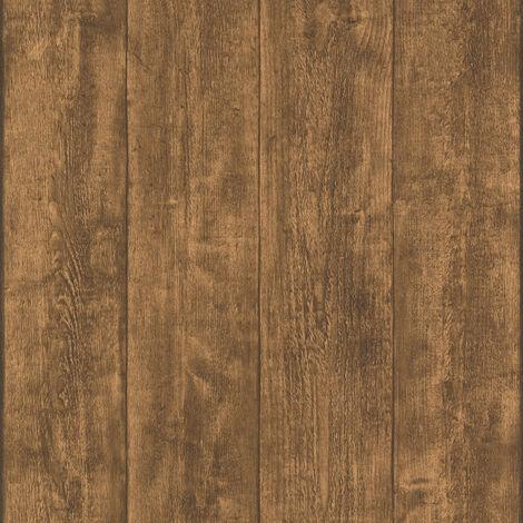 Papier peint 708823 A.S. Création Best of Wood`n Stone 2nd Edition | Papier peint Marron en ligne