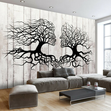 Papier peint - A Kiss of a Trees 350x245