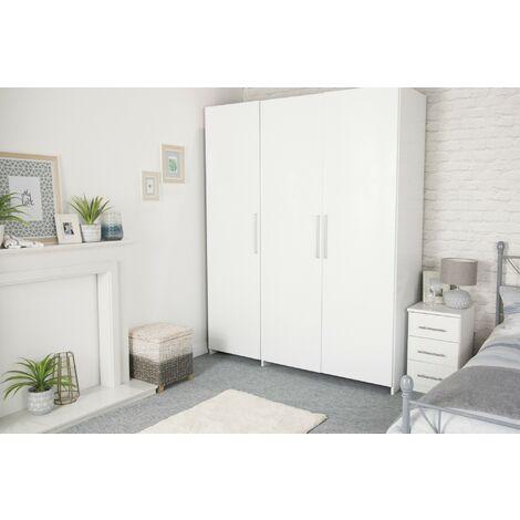 Papier peint adhésif décoratif pour meuble Laque blanc 200 x 45 cm uni