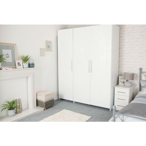 Papier peint adhésif décoratif pour meuble Laque blanc 200 x 67,5 cm uni
