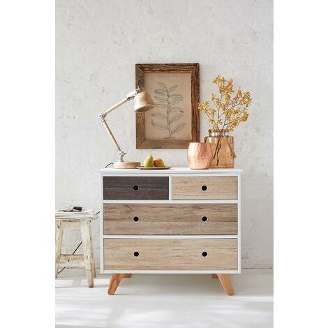 Papier peint adhésif décoratif pour meuble Oak Sand beige 200 x 67,5 cm bois