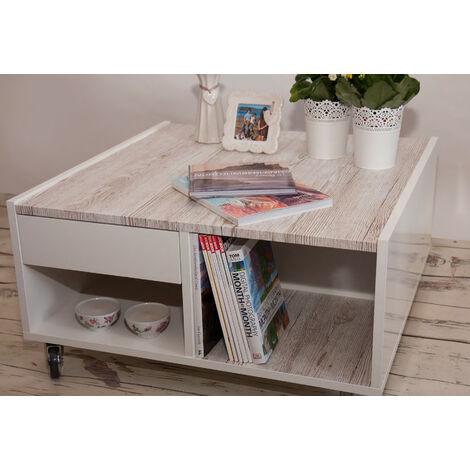 Papier peint adhésif décoratif pour meuble Whitewash Wood blanc 200 x 67,5 cm bois