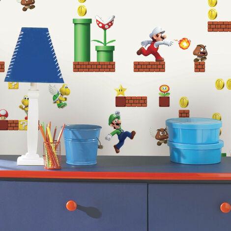 Papier Peint adhésif Mario Bros. NINTENDO - 45,72 cm x 5.74 m