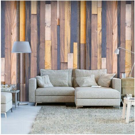 Papier peint - Alliance en bois 50x1000