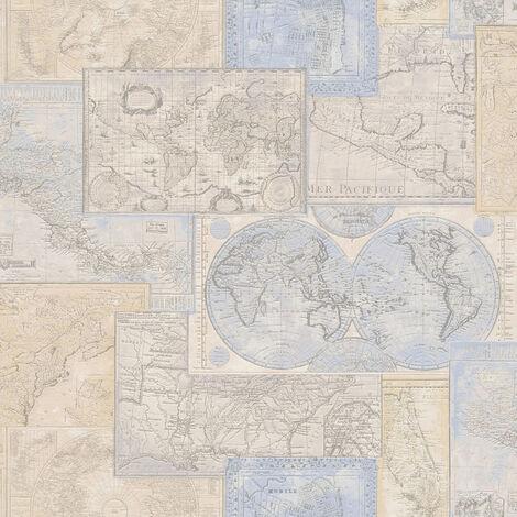 Papier peint - AS Création Dekora Natur 6 6643-10 - Livré à domicile.