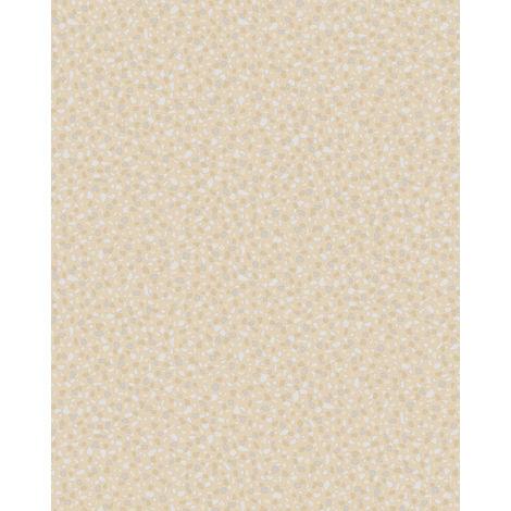 Papier peint aspect pierre carrelage Profhome VD219124-DI papier peint intissé gaufré à chaud gaufré unicolor nacré beige 5,33 m2