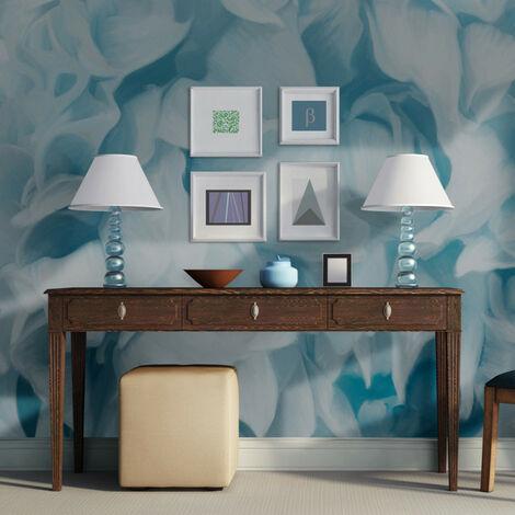 Papier peint - azalée (bleu) 200x154