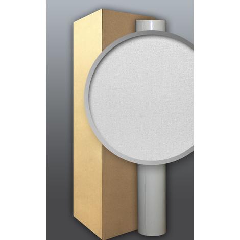 Papier peint blanc non-tissé EDEM 80357BR60 à peindre texture décorative 1 carton à 8 roul. 212 m2